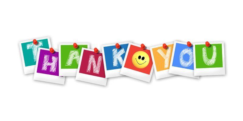 25 thank you polaroid letters