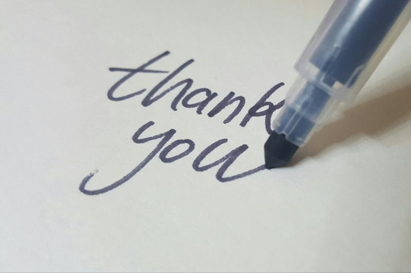 26 calligraphy pen thank you