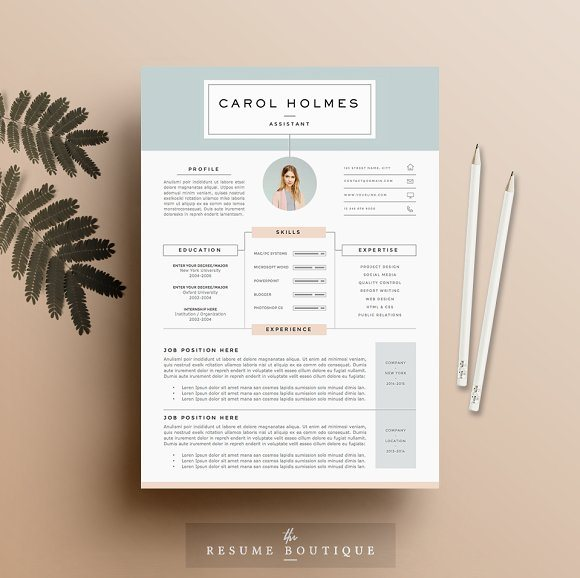 26 milky way resume template