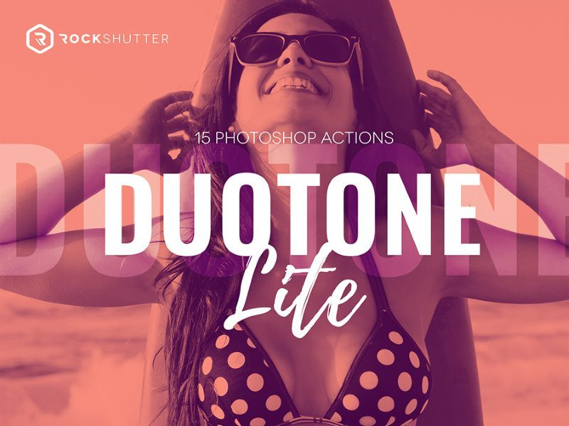 4 duotone lite free photoshop action