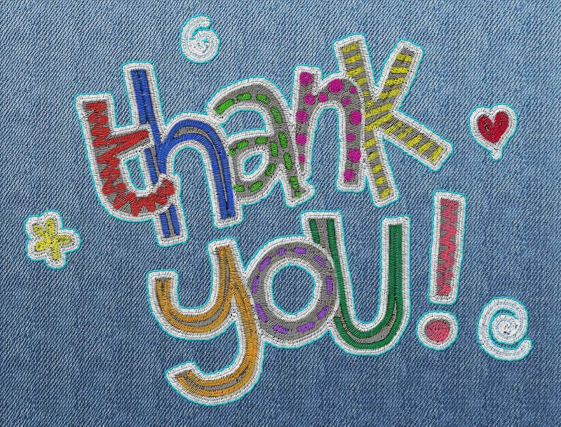 6 embroidery thank you image