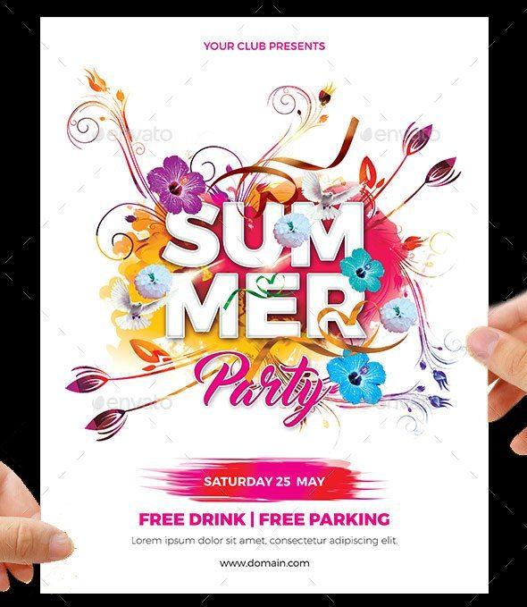 Summer Club Flyer