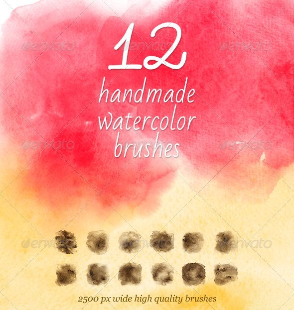 watercolor handmade brushes