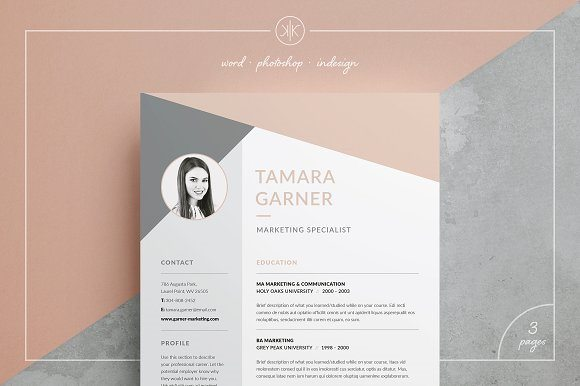 Modern Design Resume Template