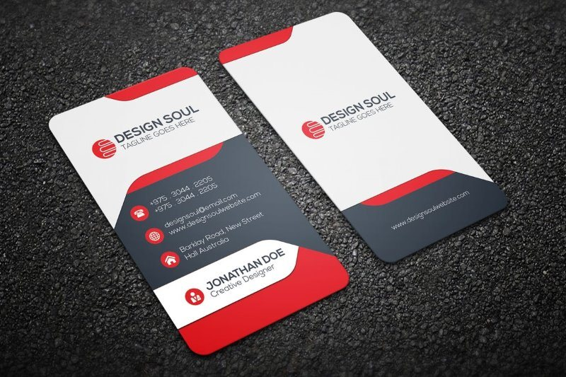 25 Modern Business Card Templates – PSD, AI & EPS Download