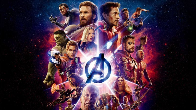 Avengers Inifnity War Movie Poster Wallpaper