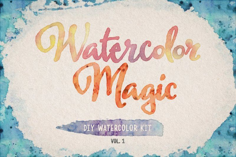 watercolor magic volume