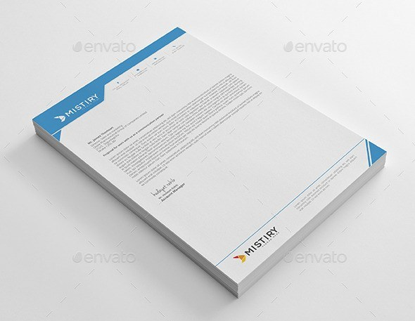 Business Letterhead Pad