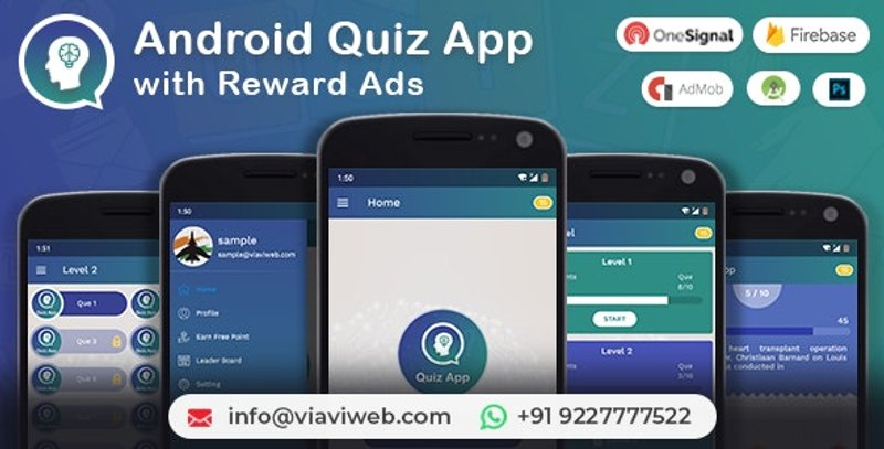 5 Android Quiz App with