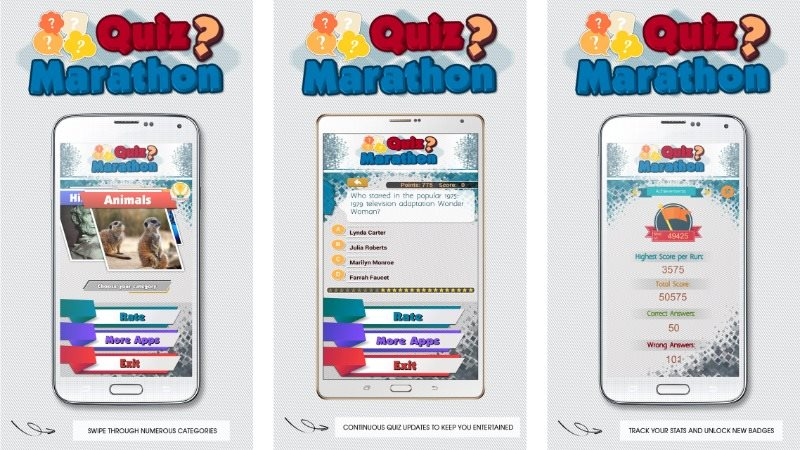 Quiz Marathon Trivia with CMS Android