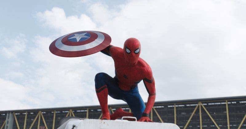 Movie Captian America Civil War Spider Man