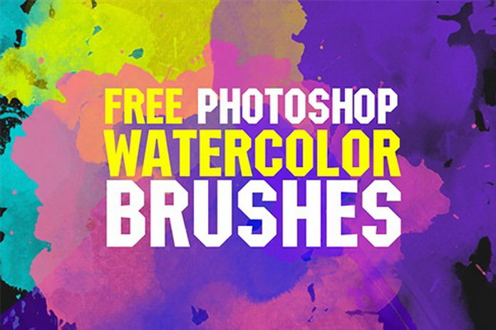 free watercolor brushes fixthephoto 1