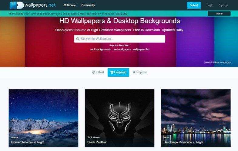 hdwallpapers net