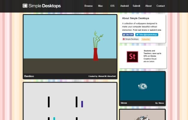 simple desktops