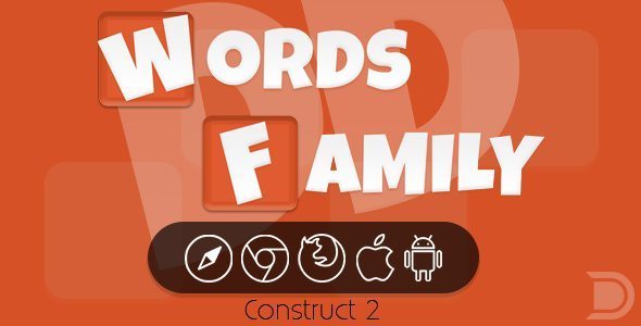DD Words Family HTML5 Game