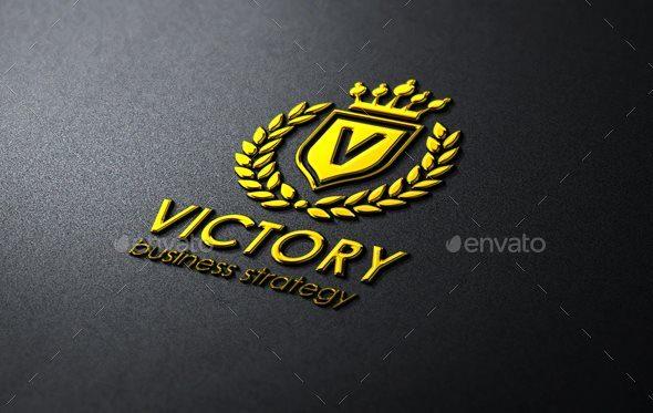 Victory Heraldic Elegant Logo