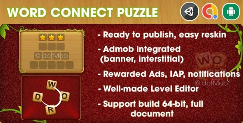 9 Word Connect Puzzle