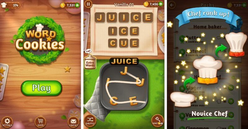 Word Cookies Puzzle Game