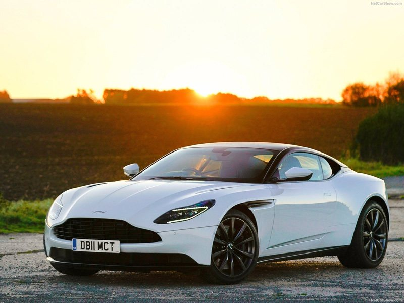 Aston Martin Car Sunset View