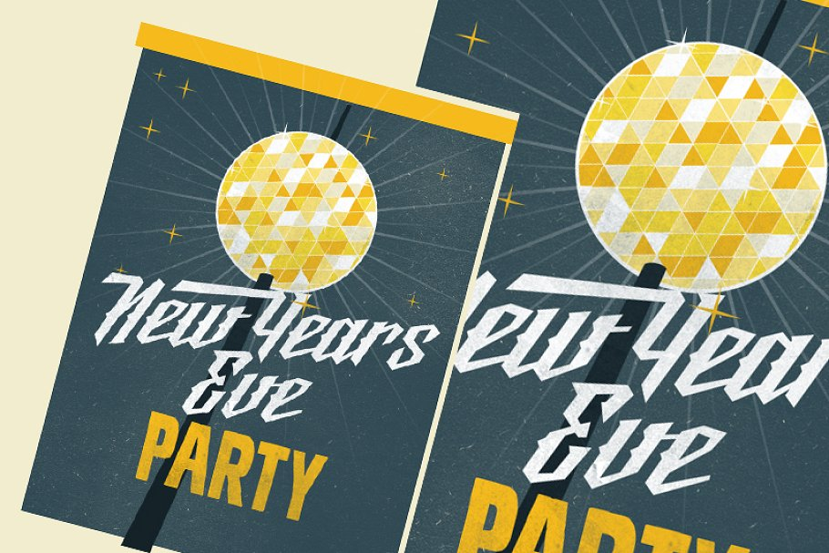 new year eve party flyer