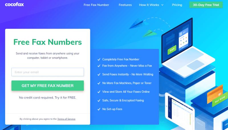 cocofax homepage