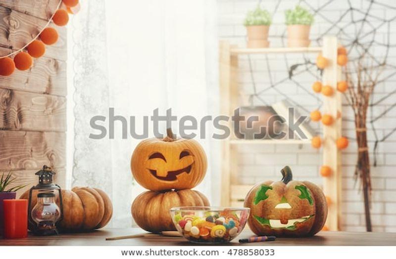 Happy Halloween Carving Pumpkin