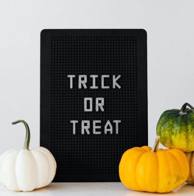 Pumpkins and Trick or