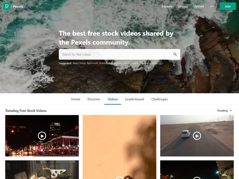 13 Free stock videos Pexels