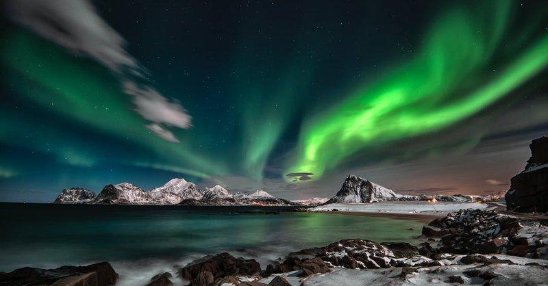 Aurora Borealis Photo Free