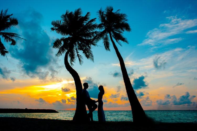 couple silhoute