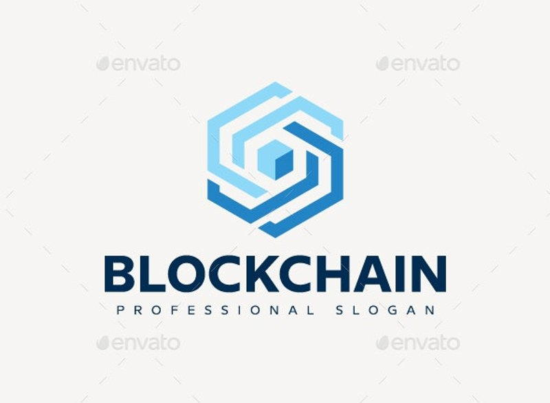 1 Blockchain Logo by AI80