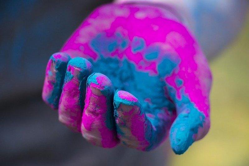 3 Hand Rang Barse Holi