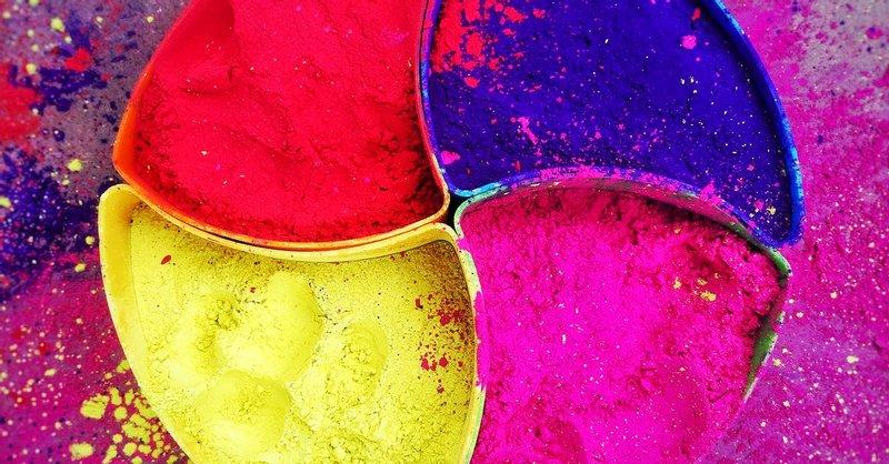 4 Multicolored Powder Photo Free