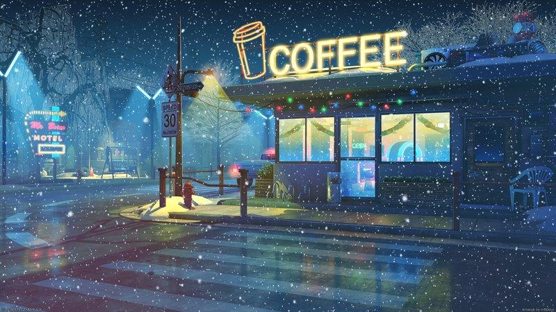 3 Lo Fi Cafe 2560x1440 1