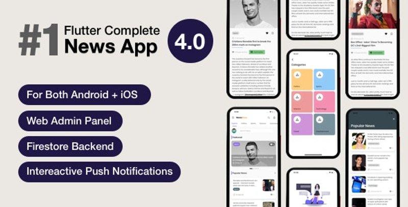 NewsHour Flutter News App template